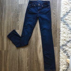 J Brand 'Ignite' Cigarette Leg dark Jeans